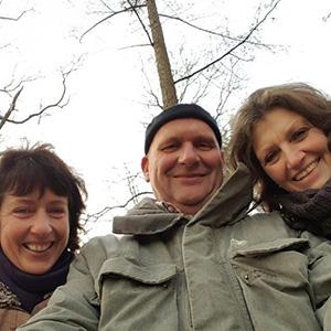 Petra, Melle en Sandra