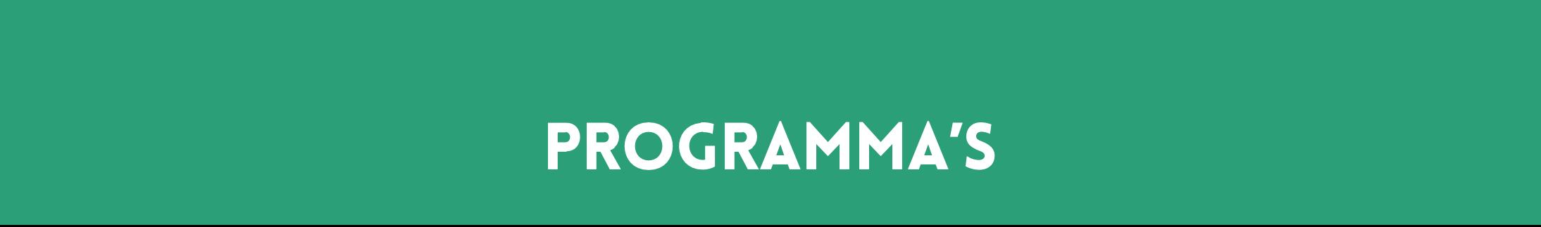 Programma Banner - De Kwekerij