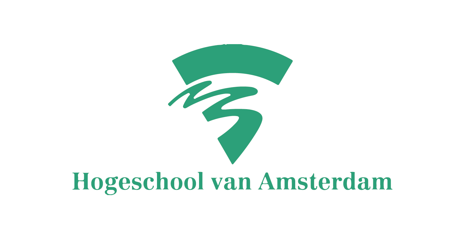 Hogeschool van Amsterdam Logo Groen