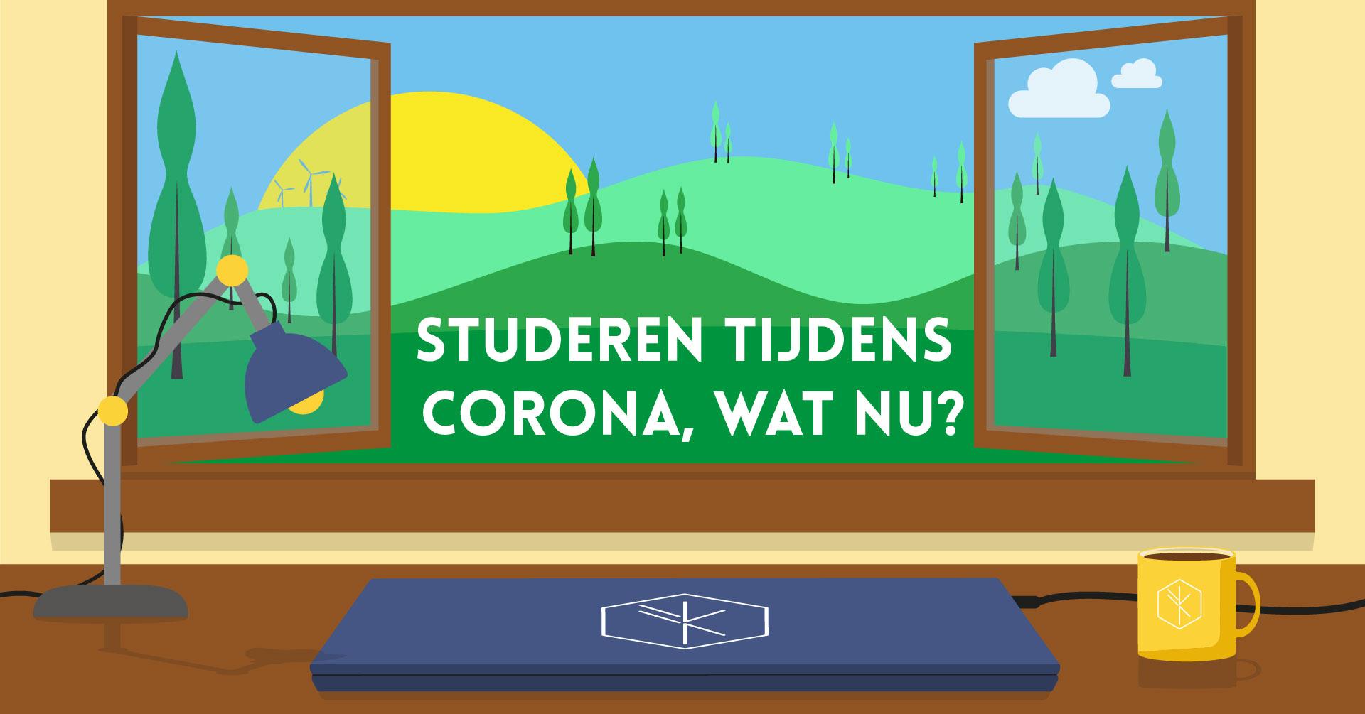 Studeren tijdens corona, wat nu?